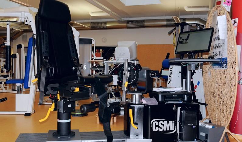 Isokinetik umfangreiches Testungs-und Trainingsgerät