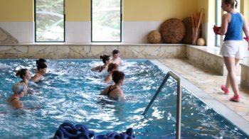 Aqua-Fitness, Sauna und Entspannung in einem